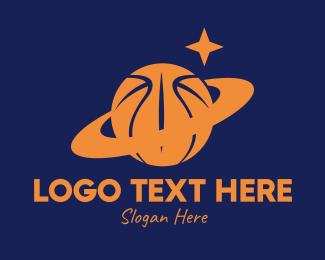 Basketball Equipment - Basketball Planet  logo design