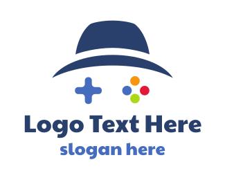Fedora - Blue Hat Gaming logo design