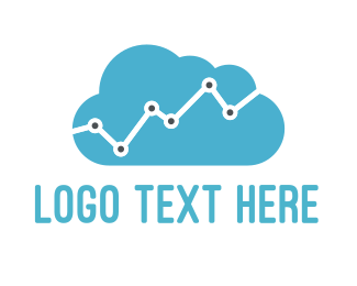 Statistic - Data Cloud  logo design