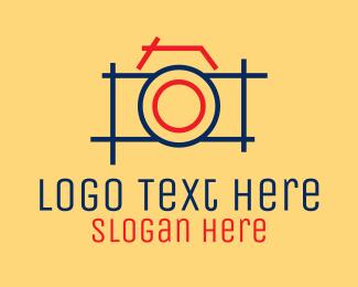 Blog - Minimal Photography Camera logo design