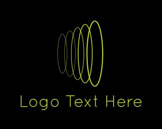Loop - Sound Wave logo design