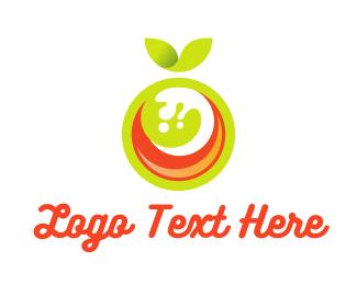 Juice Bar - Fruit Juice logo design