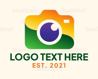Electronics Boutique - Brazilian Photographer logo design