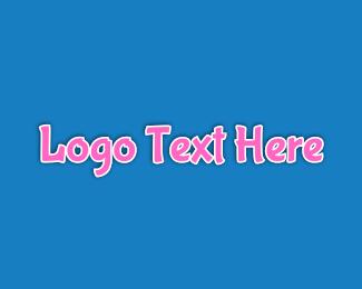 Desserts - Bubblegum Wordmark logo design