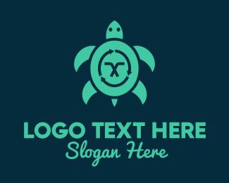 Sea - Sea Turtle Sustainability logo design