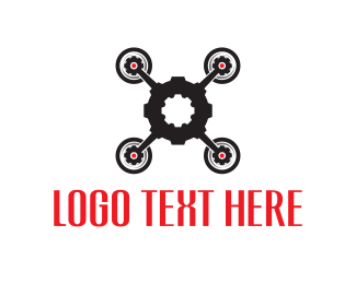 Gear - Gear Drone logo design