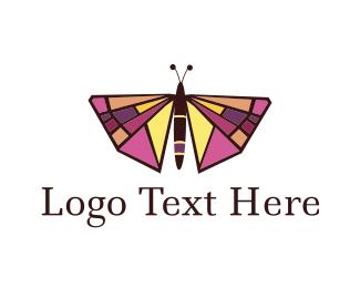 Art - Butterfly Art logo design