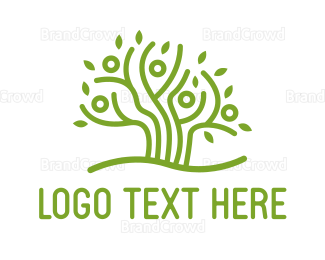 Gardener - Community  Tree logo design