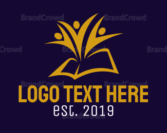 """Golden Book Team"" by LogoBrainstorm"