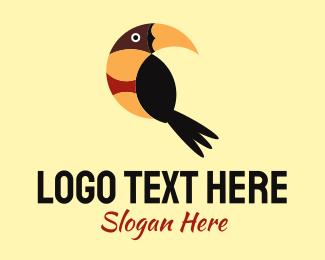 Amazon - Tropical Bird logo design