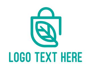 Purse - Healthy Shopping logo design