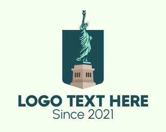 Statue Of Liberty - Statue of Liberty logo design