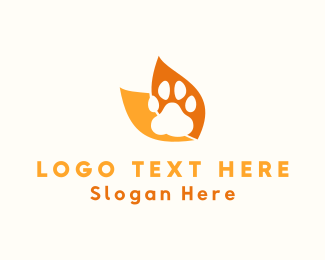 Animal - Animal Paw logo design