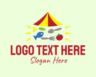 Nutritious - Healthy Vegetarian Restaurant  logo design