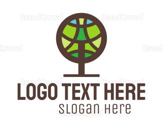 Organic Food - Round Tree logo design