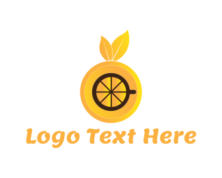Drink - Orange Drink logo design