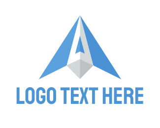 Wing - Blue Wings logo design