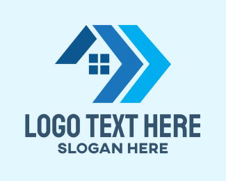 Home Property - Residential Home Contractor logo design