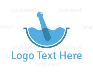 Mortar - Water Mortar logo design