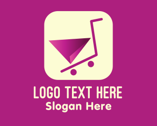 Trolley - Online Shopping Cart Application logo design