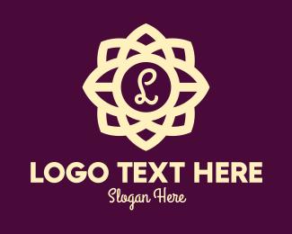 Lettermark - Elegant Flower Lettermark logo design