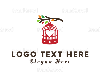 Autumn - Love Cage logo design