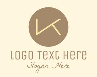 Initial - Elegant Letter K logo design