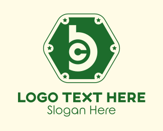 Las Vegas - Bitcoin Monogram B & C logo design