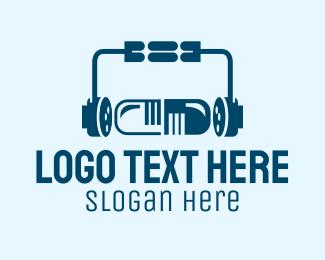Medicine - Music Medicine logo design