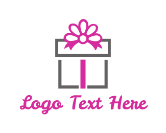 Present - Gift Box logo design
