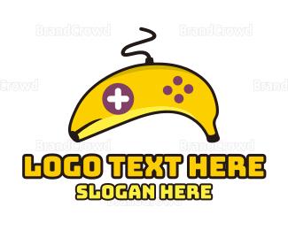 Banana - Banana Game Controller logo design