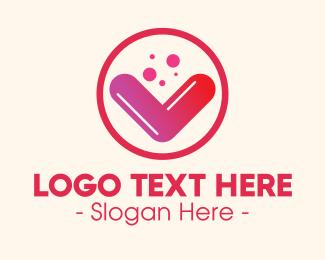 Supplement - Vitamin Supplement Letter V logo design