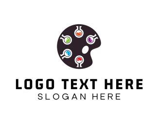 Creative Services - Lab Palette logo design
