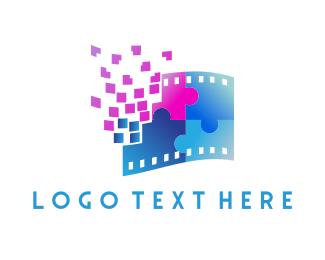 Puzzle - Puzzle Film logo design