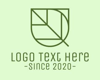 Simple - Simple Garden Leaf logo design