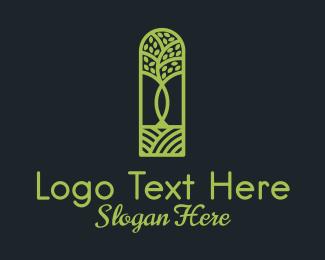 Garden - Tree Planting Garden logo design