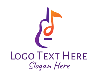 String Instrument - Musical String Instrument logo design