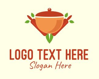 Stew - Organic Cooking Pot logo design
