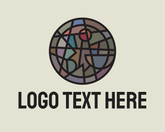 Dark - Abstract Dark Symbol logo design