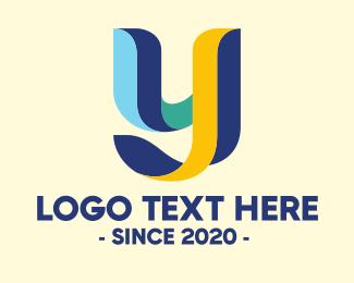 3d Style - 3D Style Letter Y logo design