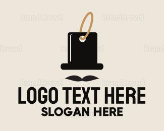 Buy - Gentleman Tag logo design