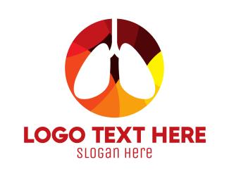 Health Care - Lung Health Doctor logo design