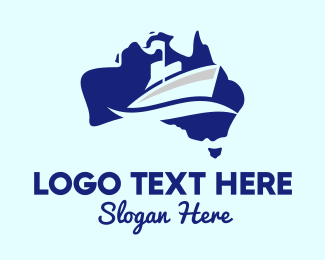 Naval - Australian Naval Ship logo design