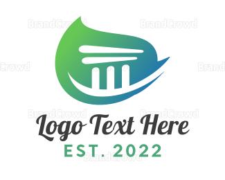 Building - Green Build logo design