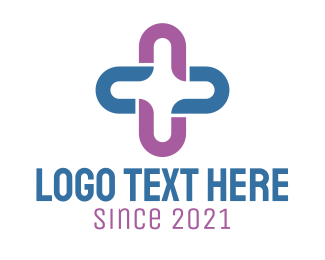 Tagline - Plus Cross logo design
