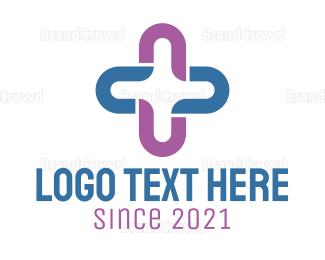 Hospital - Plus Cross logo design