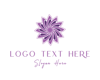 Feminine Wash - Violet Lotus logo design