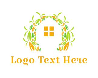 Garden - House Garden logo design