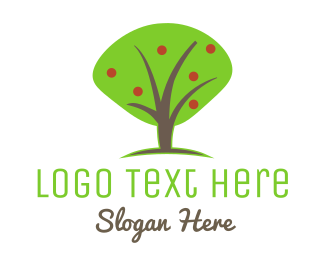 Apple - Apple Tree logo design