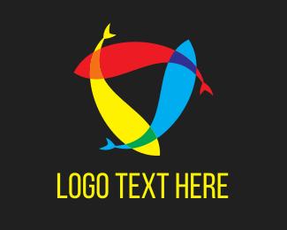 Harmony - Fish Harmony logo design